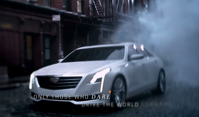 Cadillac CT6 Image Leaks During Oscars Commercial