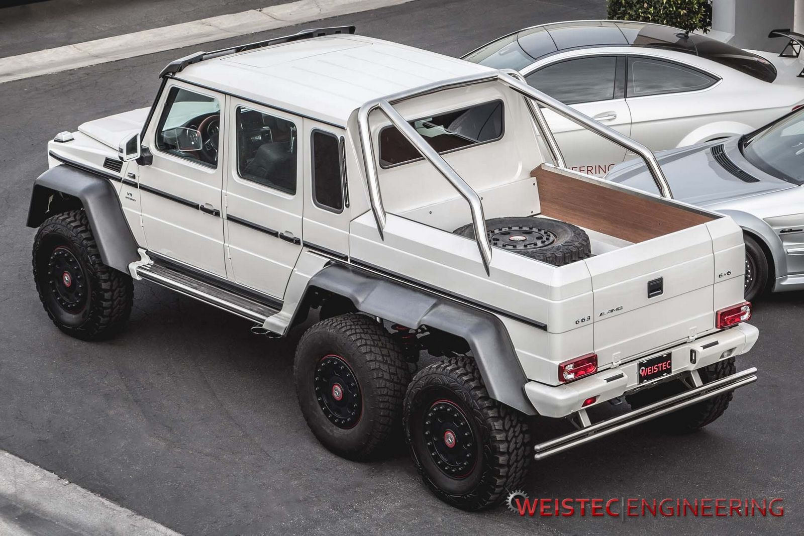 official mercedes benz g63 amg 6x6 by weistec engineering. Black Bedroom Furniture Sets. Home Design Ideas