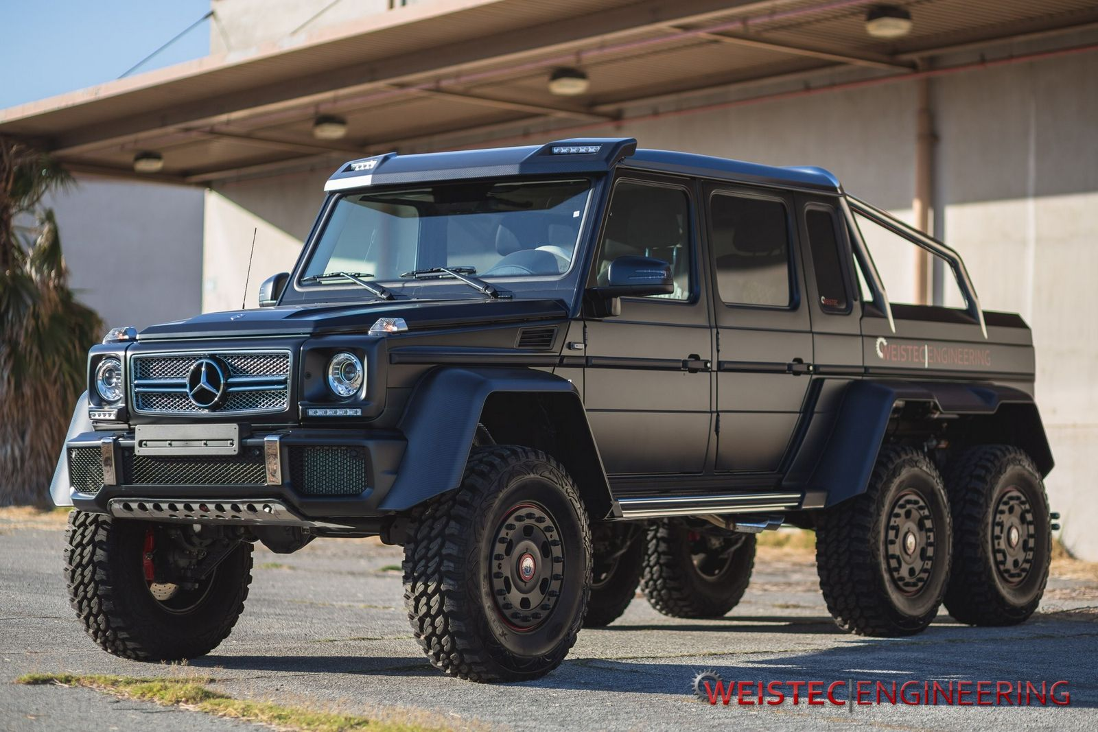 Official MercedesBenz G63 AMG 6x6 by Weistec Engineering  GTspirit
