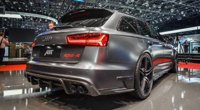ABT RS6-R at Geneva Motor Show 2015