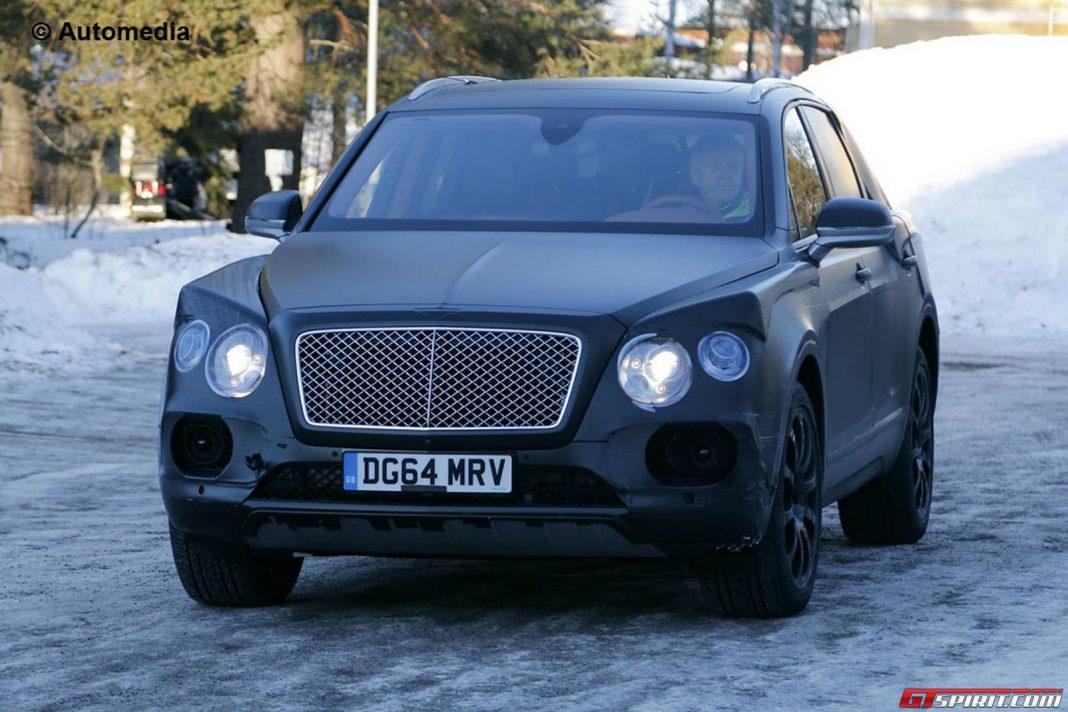 Spy Shots: Upcoming Bentley Bentayga Testing at the Arctic Circle