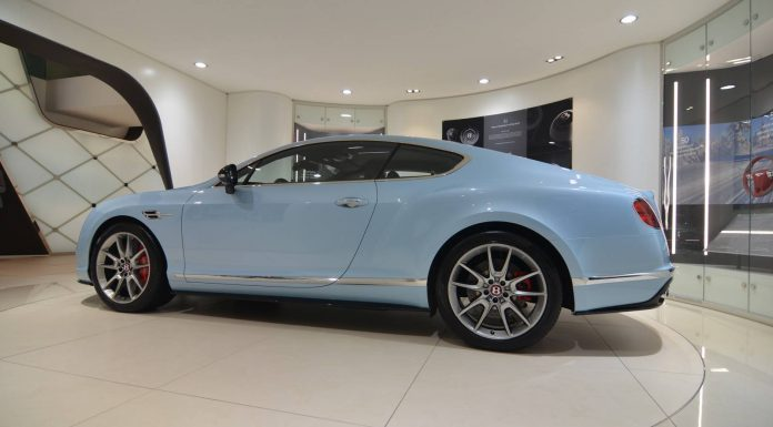 Bentley Continental GT Facelift at the Geneva Motor Show 2015