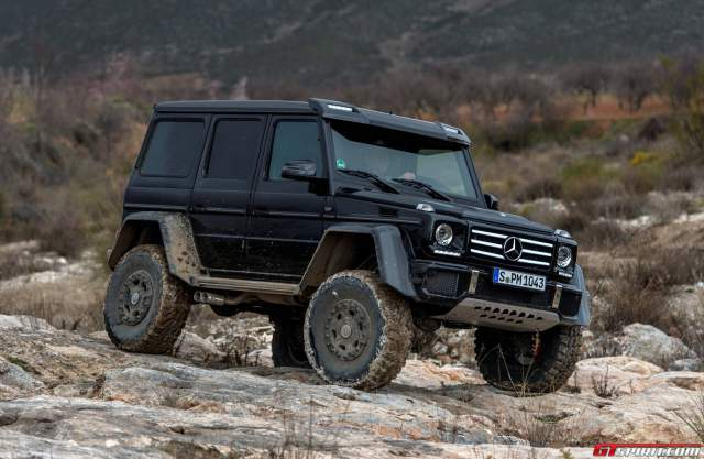 Exclusive: Mercedes-Benz G 500 4x4 Review