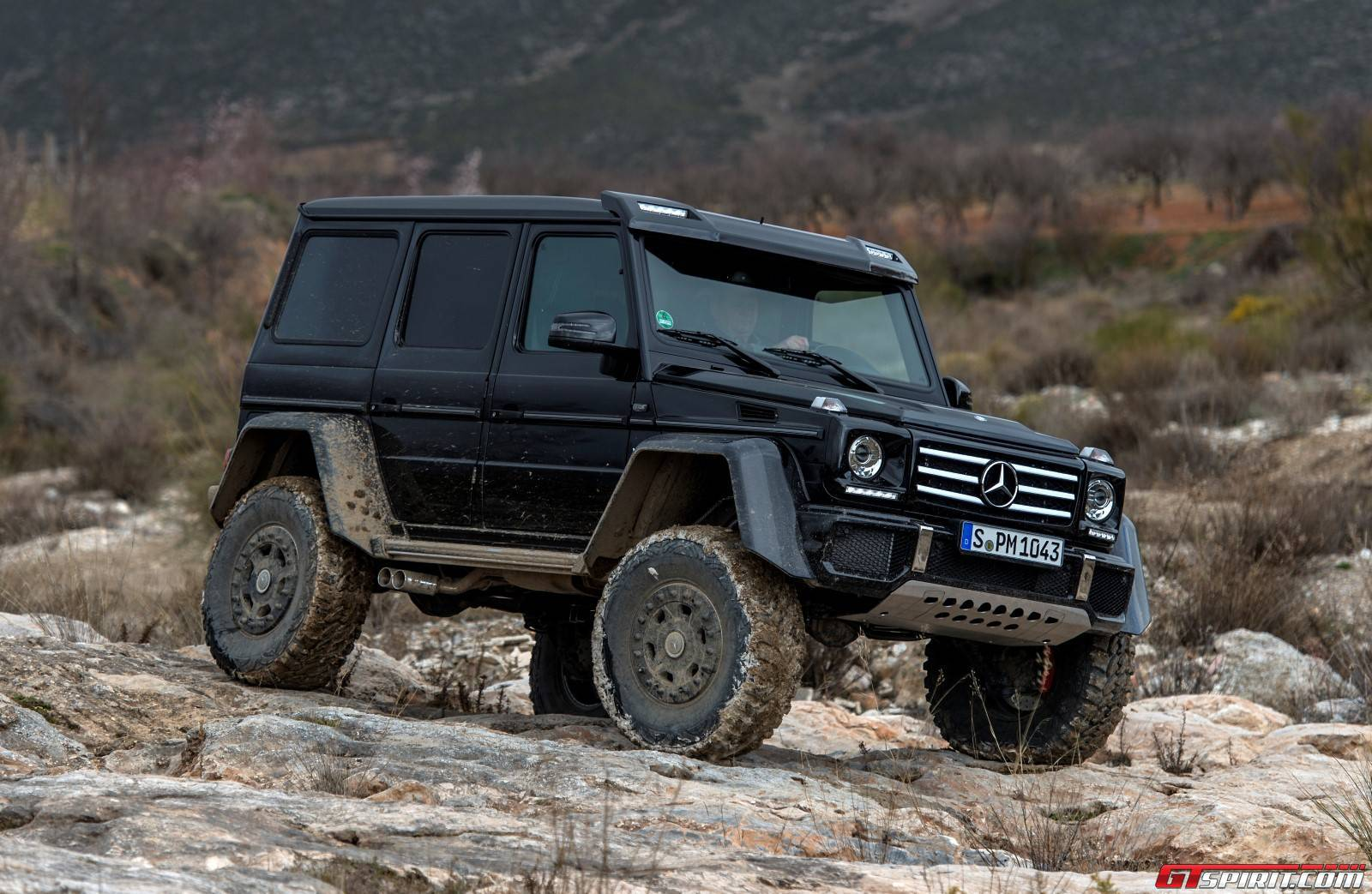 exclusive mercedes benz g500 4x4 review off road with gtspirit. Black Bedroom Furniture Sets. Home Design Ideas