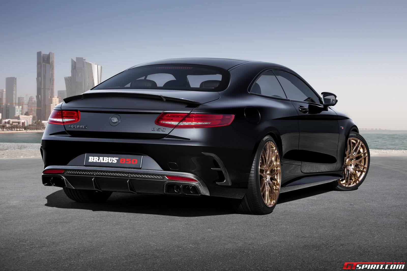 Official brabus 850 mercedes benz s63 amg coupe gtspirit for Mercedes benz e amg