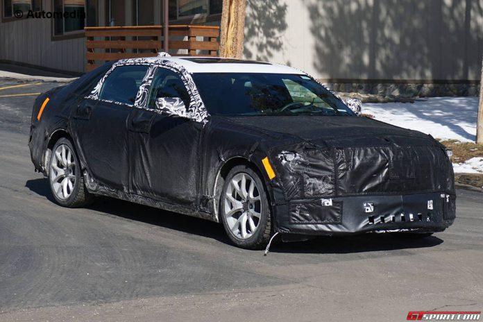 2016 Cadillac CT6 Spy Shots Emerge Ahead of Global Debut
