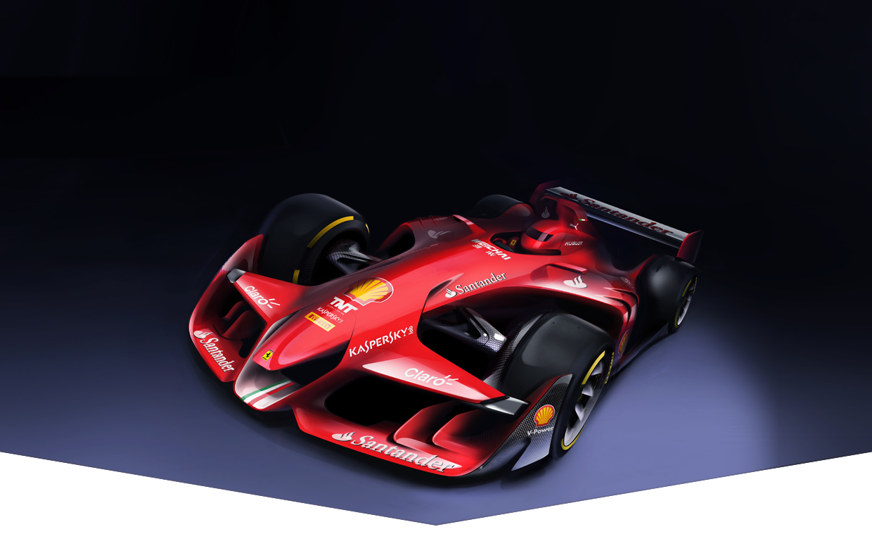 Ferrari Reveals Crazy Future Formula One Concept