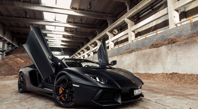 Alexandre Mourreau Lamborghini Aventador