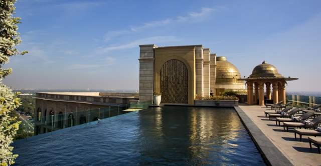 Leela Palace Rooftop Pool