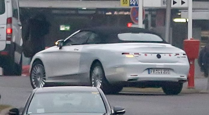 Mercedes-Benz S-Class Convertible Spy Shots Without Camo
