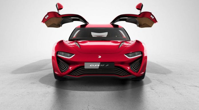 1073hp Quant F Electric Sportscar to Debut at Geneva