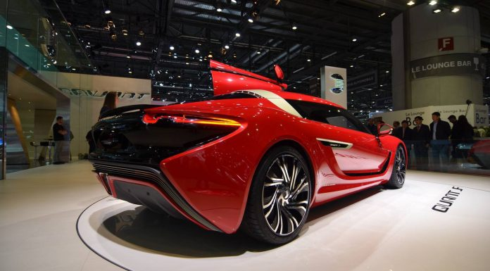Geneva 2015: Quant F Electric Sportscar