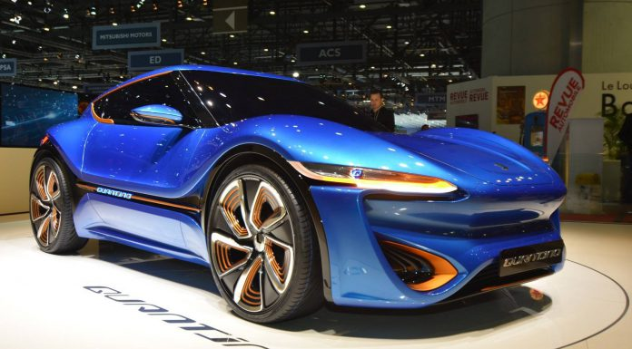 Geneva 2015: nanoFlowcell Quantino Electric Sportscar
