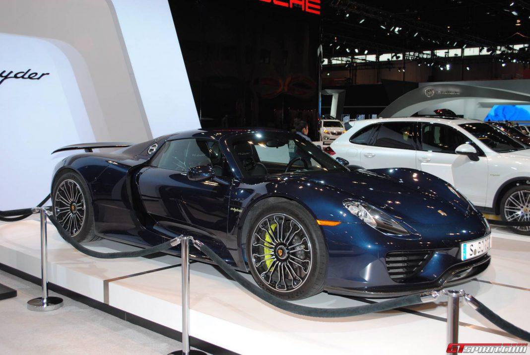 Porsche Highlights at the Chicago Auto Show 2015