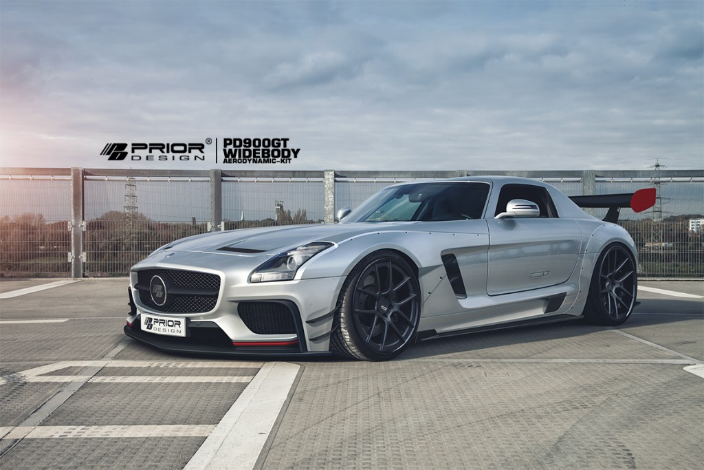 Official prior design mercedes benz sls amg pd900gt for 2015 mercedes benz sls amg