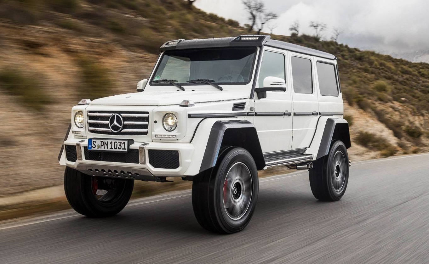 Exclusive mercedes benz g500 4x4 review gtspirit for Mercedes benz 4x4 g class