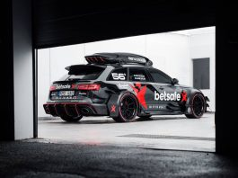 Official: Jon Olsson Audi RS6 DTM for Gumball 3000
