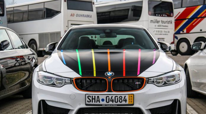 1 of 23 BMW M4 DTM Champion Edition Snapped on the Streets