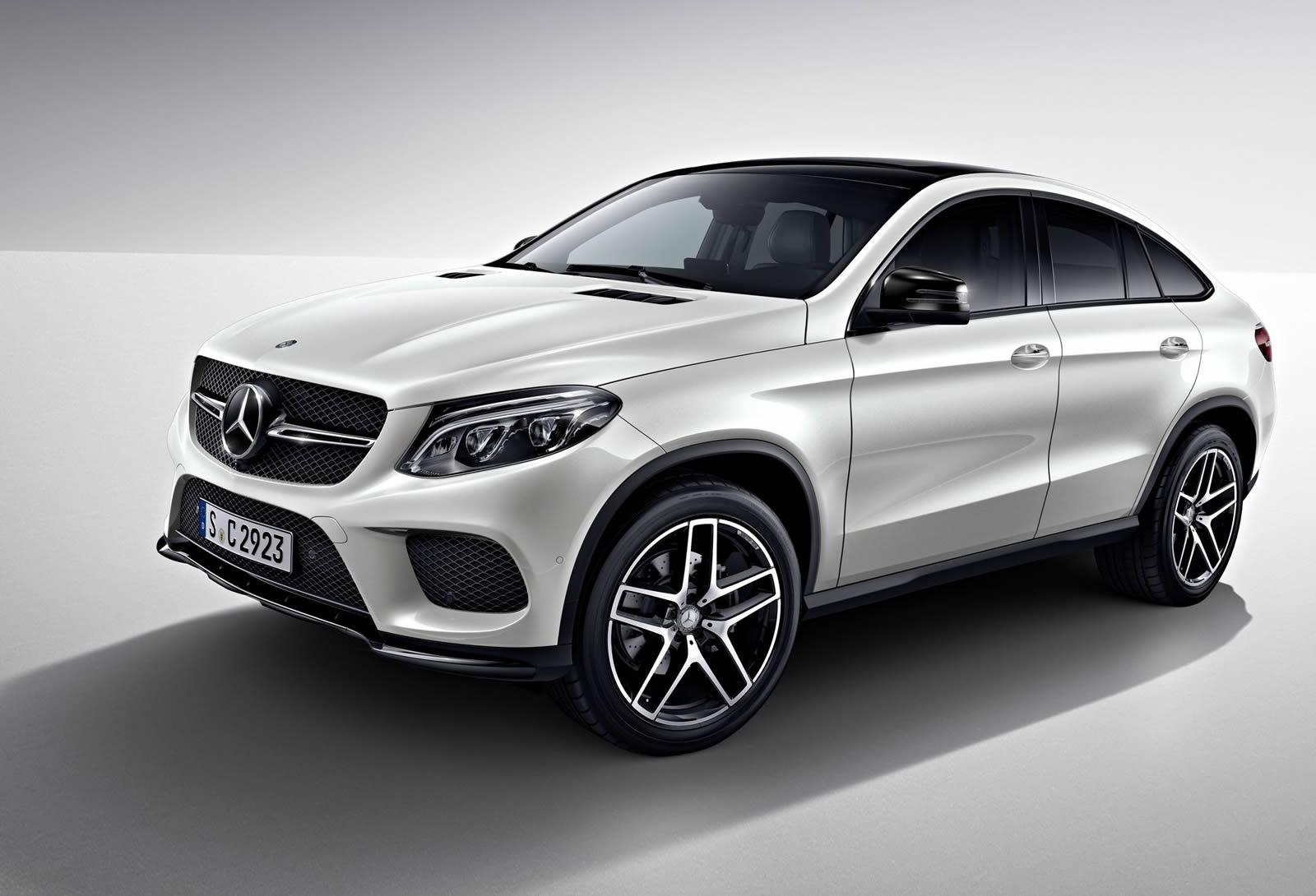 Official mercedes benz gle coupe night package gtspirit for Mercedes benz packages