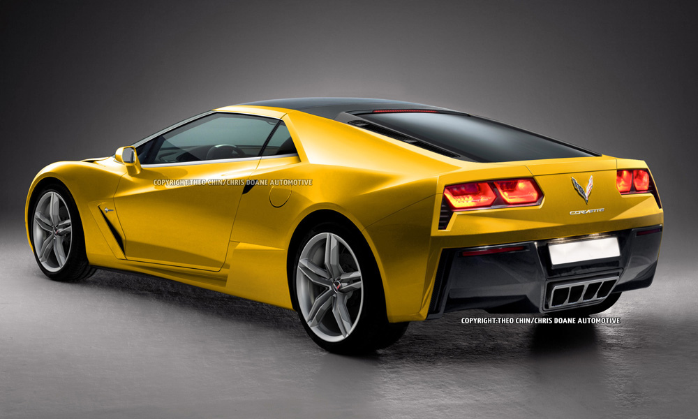 Potential Mid-Engined Chevrolet Corvette Rendered - GTspirit