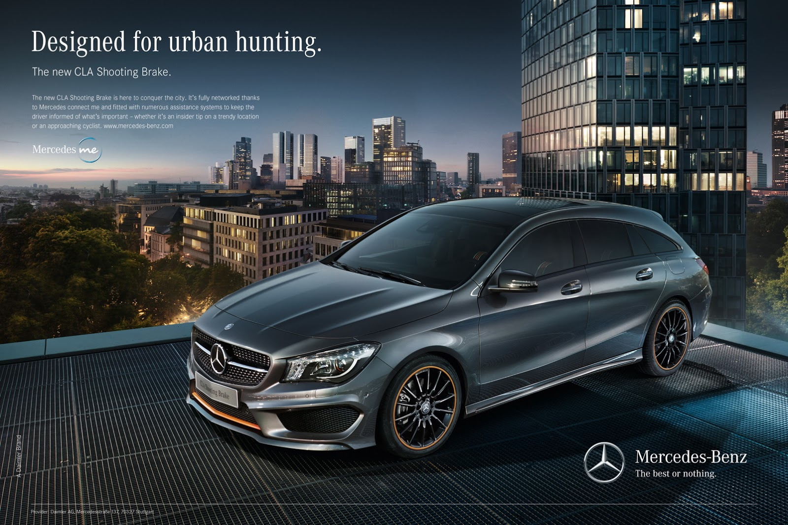 Video nico rosberg drives mercedes benz cla shooting for Mercedes benz new advert