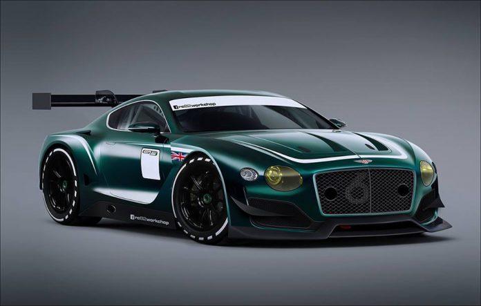 Hardcore Bentley EXP 10 Speed 6 GT3 Concept Imagined