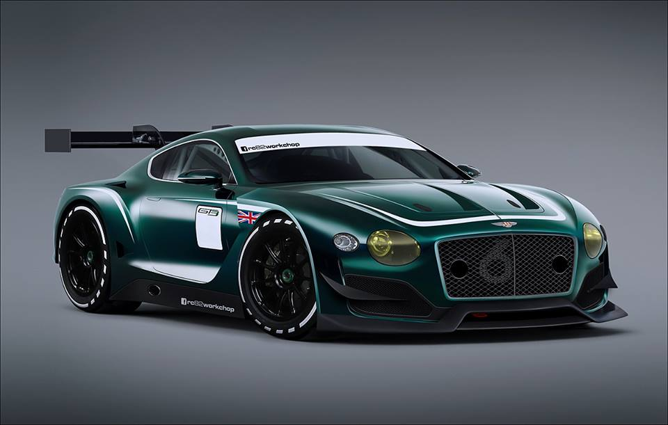 Hardcore Bentley EXP 10 Speed 6 GT3 Concept Imagined