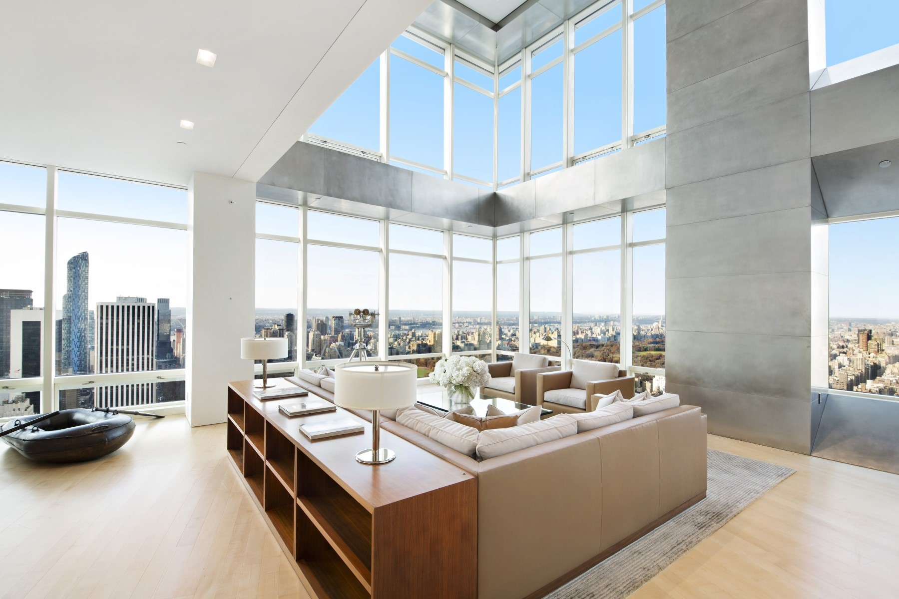 Phenomenal 82 million penthouse apartment in new york for New york city luxury apartments