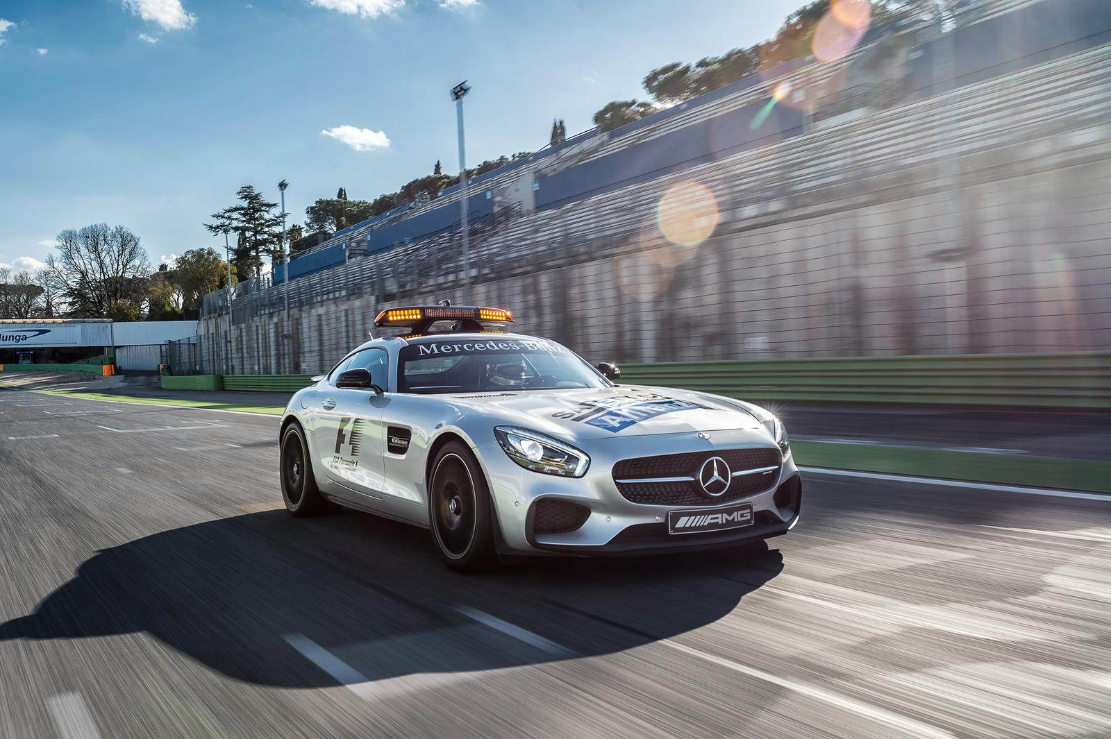 mercedes amg gt s f1 safety car and c63 s medical car revealed gtspirit. Black Bedroom Furniture Sets. Home Design Ideas
