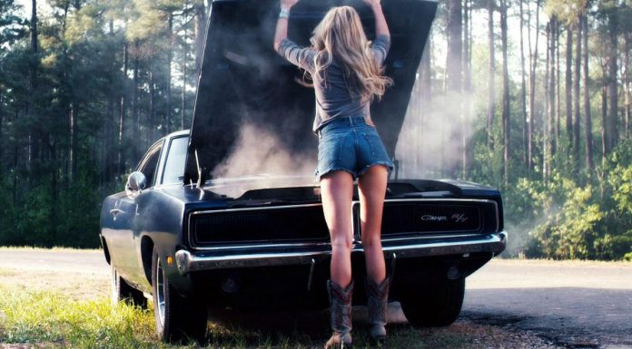 1969 Dodge Charger R/T in Drive Angry