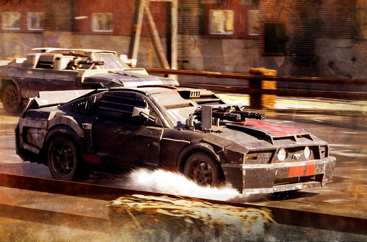 Top 10 American Muscle Cars In Movies Gtspirit