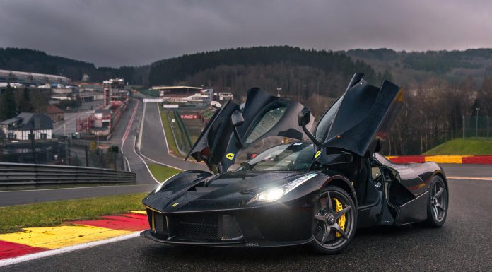 Photo of the Day: Nero LaFerrari at Spa Francorchamps