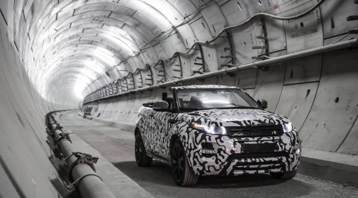 First Range Rover Evoque Convertible Film Released