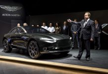 Aston Martin DBX Concept launch