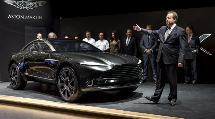 Aston Martin DBX Concept launch