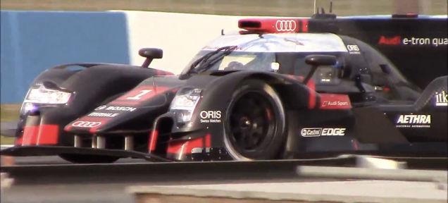 Audi R18 LMP1 Caught Testing