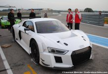 New Audi R8 LMS Hits the Track at Paul Ricard Circuit