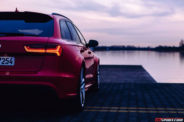Audi RS6 Rear