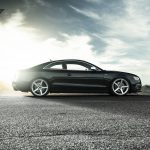 Audi S5 Shines on New Mercury Silver Vorsteiner Wheels
