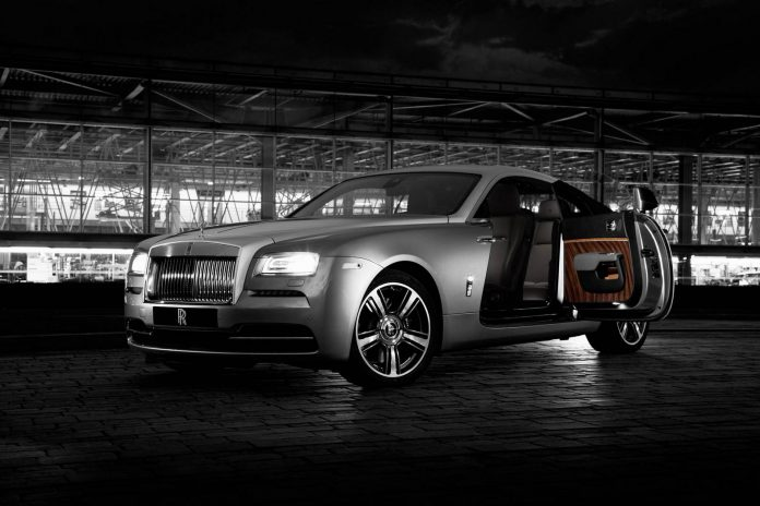 Official: Rolls-Royce Wraith 'Inspired by Film'
