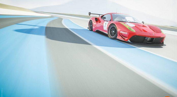 Ferrari 488 GT3 Comes to Life at Paul Ricard Circuit