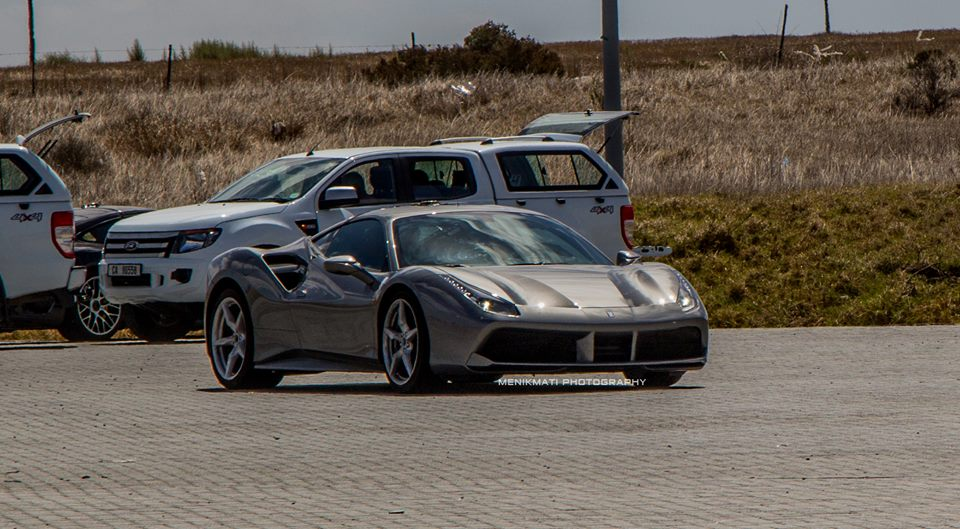 New Ferrari 488 GTB Snapped on Public Roads in South Africa