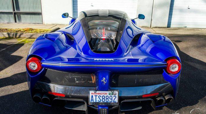 Stunning Blue Ferrari LaFerrari in Washington!