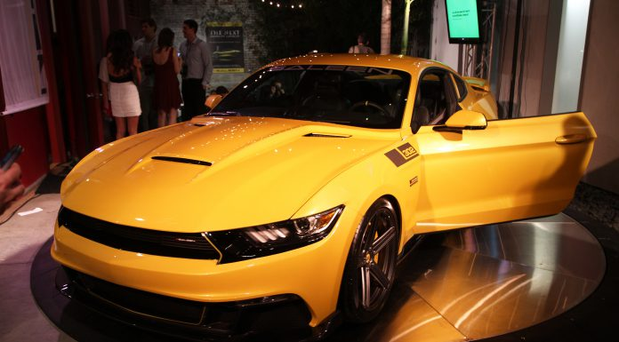 Saleen Unveils 2015 302 Black Label