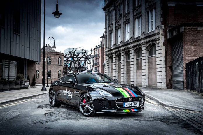 Team Sky Jaguar F-Type Coupe Gets New Look for 2015