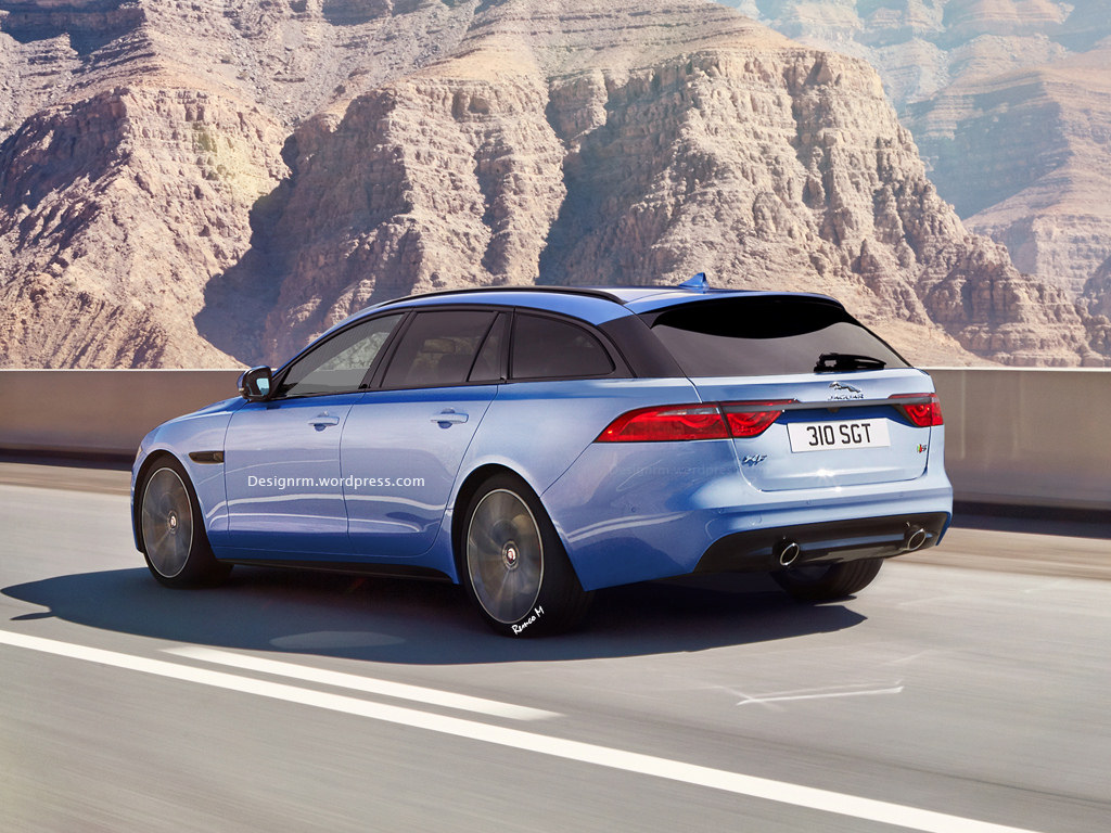 jaguar xf sportbrake to launch next year svr coming too gtspirit. Black Bedroom Furniture Sets. Home Design Ideas