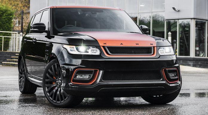 Kahn Design Reveals Range Rover Sport Vesuvius Edition