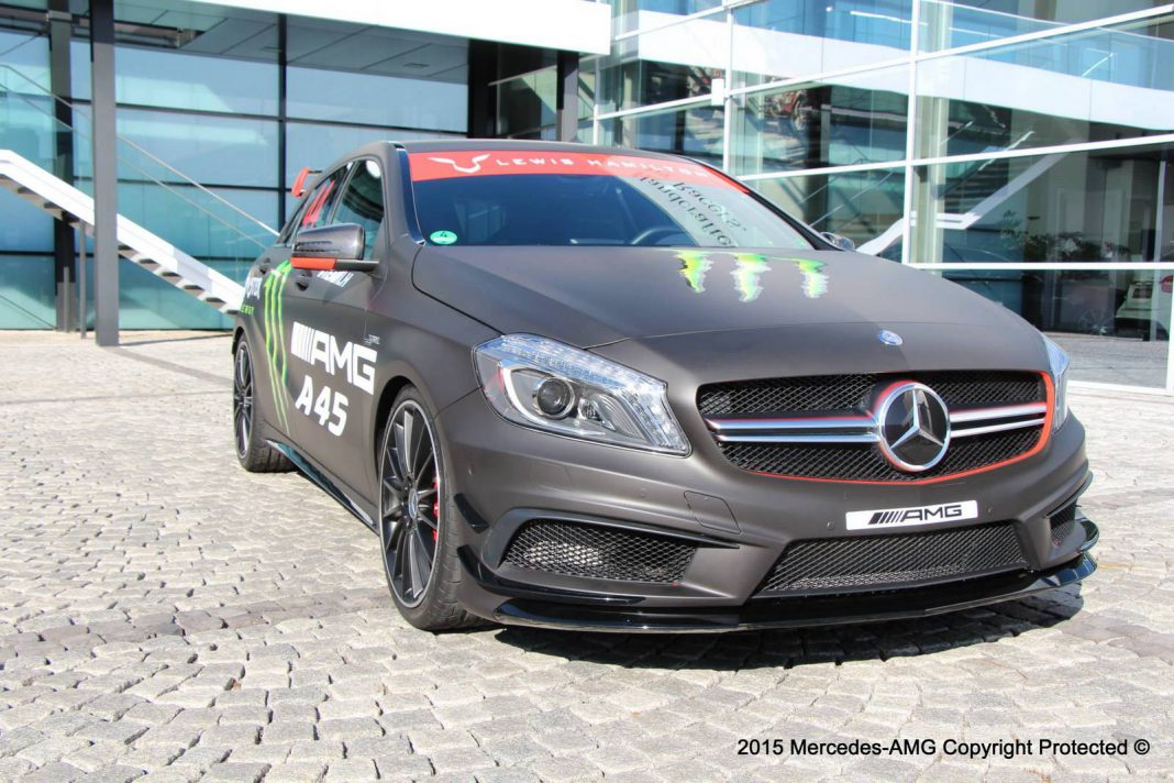 Special Mercedes-Benz A45 AMG Designed for Lewis Hamilton