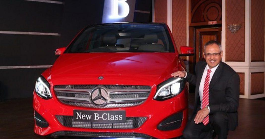 Mercedes-Benz 2015 B-Class Facelift