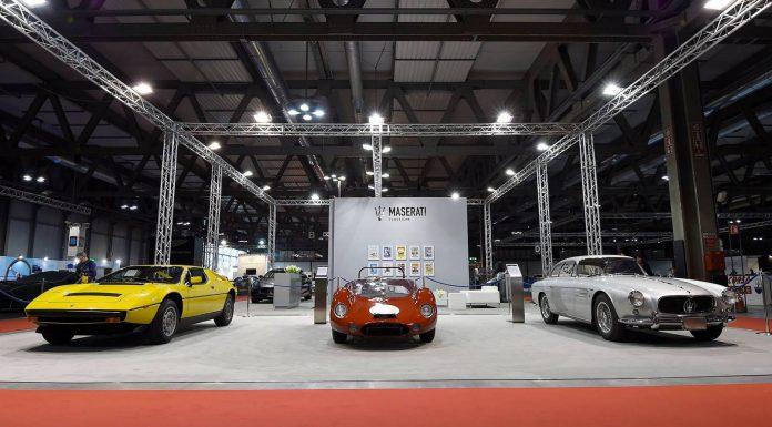 Maserati Highlights at the Milano AutoClassica 2015